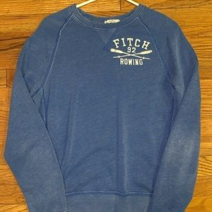 Abercrombie & Fitch Mens Muscle Rowing Sweatshirt